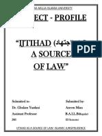 Final Islamic Project PDF