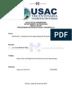 Analisis Critico Del Manual de Herramientas de Evaluación