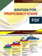 Proficiency Stage