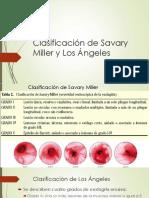 Clasificación de Savary Miller y Los Ángeles