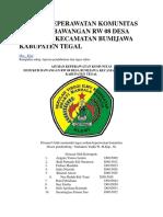Asuhan Keperawatan Komunitas Di Dukuh Bawangan Rw 08 Desa Bumijawa Kecamatan Bumijawa Kabupaten Tegal
