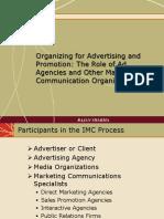 3 Organising for Advertising Agency
