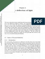 Deflection of Light