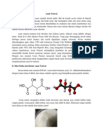 Tugas Kimia Analitik Asam Tartrat