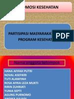 Partisipasi Masyarakat Dalam Program Kesehatan