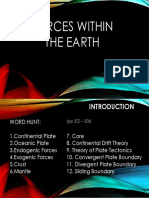 SCIENCE_Forces Within the Earth
