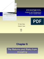 CH 06 the Returns and Risks From Investing