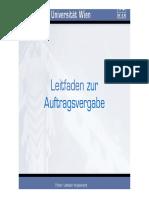 Vergaberecht Österreich