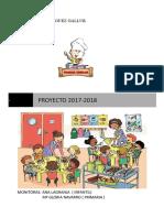 Poyecto Comedor 2017-2018