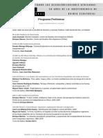 Programa Preliminar 2