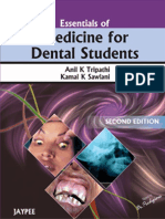 AK Tripathi - Essentials of Medicine for Dental Students, 2nd Edition