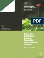 NISER Faculty Profile