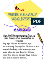 Pananakop Ng Mga Espanyol