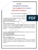 Om0018 – Technology Management