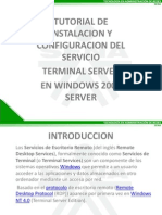 Terminal Server en Windows 2008 Server