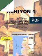 Region 1 - Report Saudi-Dela Vega