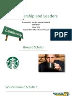 leadership and leaders