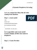 How to Create Dynamic Dropdown List Using Laravel