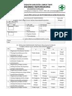 Form Survey Kepuasan Pelanggan Di Puskesmas Kerongkong