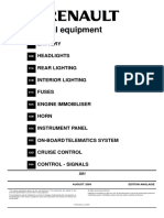 MR415LAGUNA8 Electrical Equipment