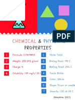 chemical   physical properties