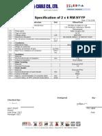 2X6.0 rm NYY-FR
