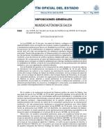 Ley de salud de la comunidad de Galicia