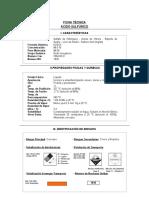 Ficha Tecnica Acido Sulfurico