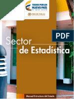 Estructura del Estado Colombiano - Sector de Estadística