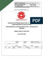 Procedimiento Instalacion de Equipos de Instrumentacion
