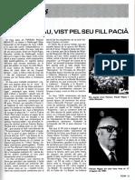 Entrevistes a l'Entorn de FERRAN RIGAU_SOM, Nº 58, Febrer 1985