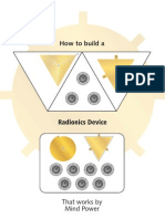 How to Build a Radionics Device That Works by Mind Power