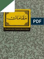 Al-Hamadani - Opowieści Łotrzykowskie (Ossolineum 1983)