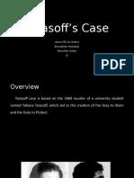 Tarasoff Case