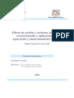 Fibras de Carbon y Carbones Activados Caracterizacion y Aplicaciones en Separacion y Almacenamiento de Gases 0