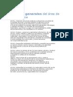 Curriculo de Matematica Desglosado 2017