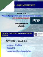 CEG461- Week 2-II - Topic 1C - Soil Classification - Sept2017