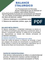 Balance Metalurgico Ppt
