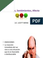 Las Emociones por LICETT MENA