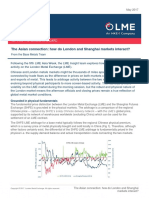 LME Insight the Asian Connection How Do LME and Shanghai Metal Markets Interact