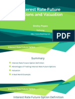 Interest Rate Futures Options Valuation and Risk
