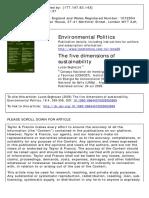 5 dimensões da sustentabilidade