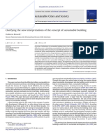 Clarifying the new interpretations of the concept of sustainable building.pdf