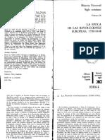 Bergeron Et Al. La Época de Las Revoluciones Europeas 1780-1848