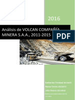 Trabajo Final Volcan Compañía Minera