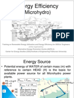 Energy Efficiency Aspects_Microhydro