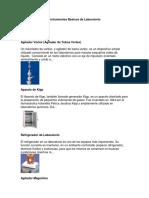 Instrumentos Básicos de Laboratorio