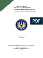 Laporan Observasi Teknologi Faisal