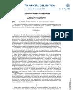 Ley 19-2017, De 20 de Diciembre, De Renta Valenciana de Inclusión