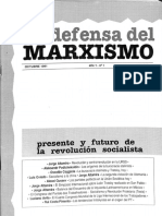 En Defensa del Marxismo - N° 1